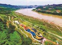 北碚打造滨江休闲带 提升城市品质