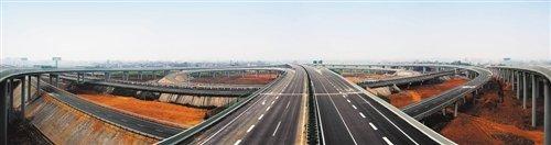 乐雅高速贯通 G93成渝环线高速通道成型