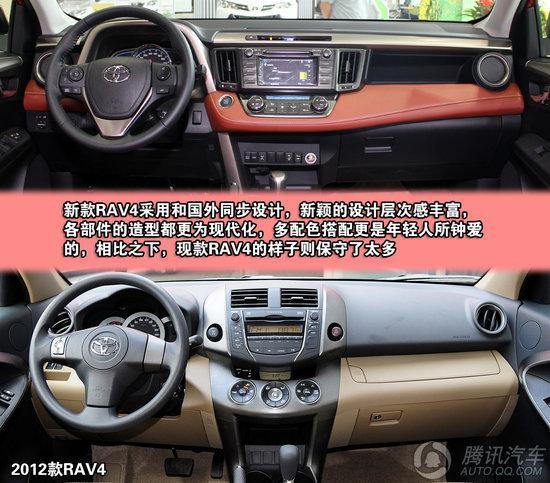 丰田RAV4 2.5L AT四驱豪华版 重点图解