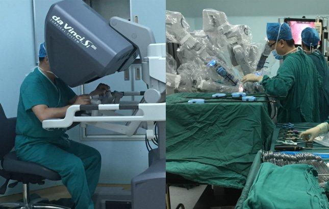 """手术机器人穿上""""白大褂""""精准切除女子第三只肾"""