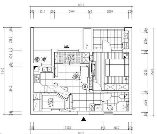 110平方房子设计图_装装修;; 【平面图】室内装修设计平面图; 平面图图片