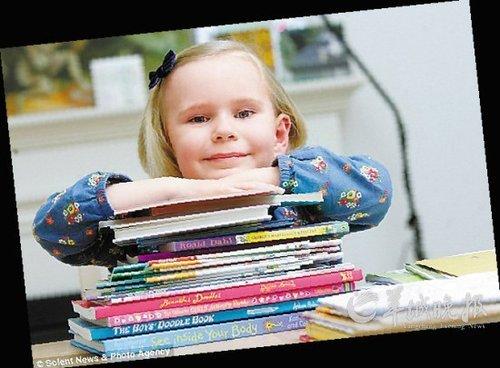 英国4岁小女孩智商高达159