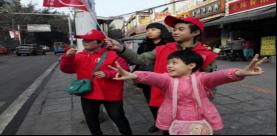 """红绿灯路口""""文明志愿者""""社会实践"""