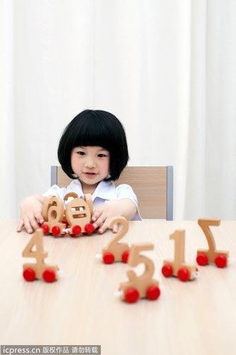 看手指能测试孩子的学习天赋?
