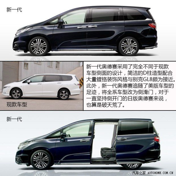 本田本田(进口)奥德赛(海外)2014款 日版 基本型