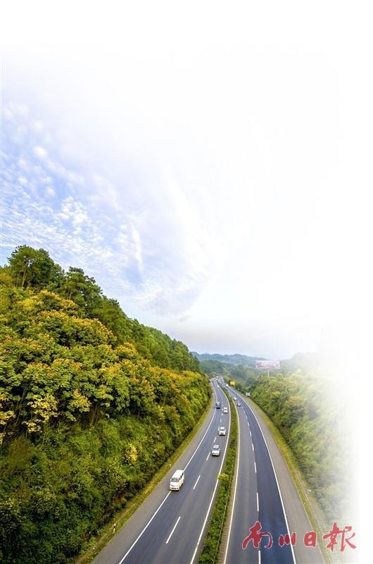 重庆南川道路规划图