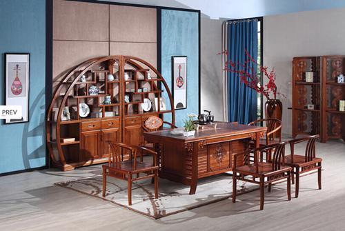 东方韵全实木新中式家具图片