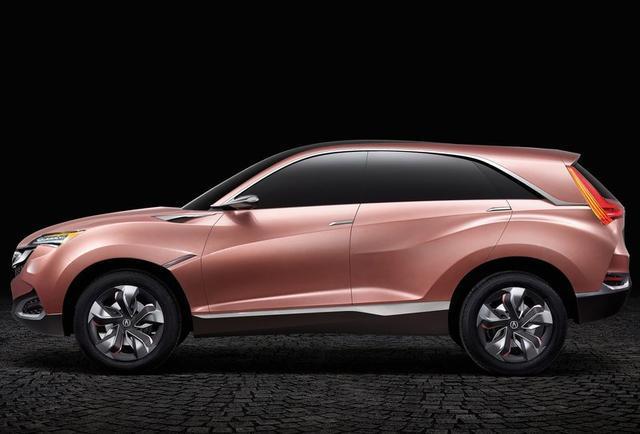 讴歌SUV-X Concept-豪华品牌国产SUV车型前瞻 欧系日系的对决图片