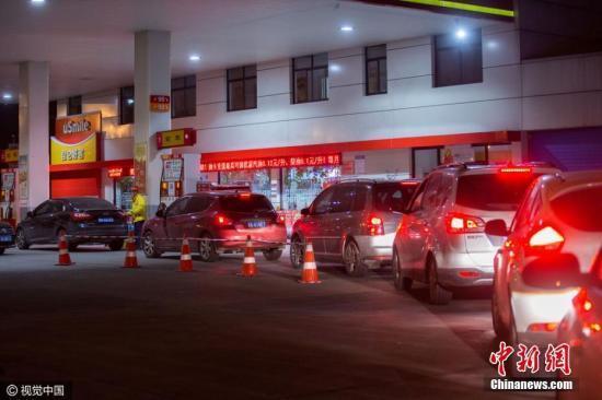 油价将迎今年第八次上调 十一开车出游可提前加油