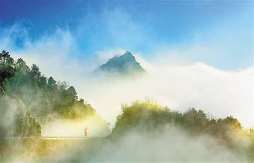重庆丰都云罩雪玉山 美如仙境
