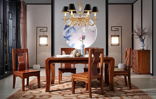 东方韵全实木新中式家具
