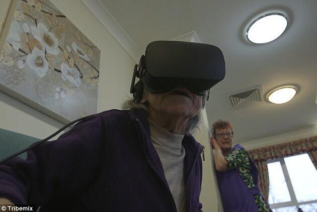 暖心!VR居然可以帮痴呆老人回忆起往事
