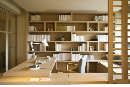 蜗居里的阅读室 10款小户型书房推荐