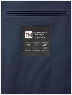 Z ZEGNA  推出可机洗的西装