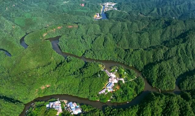 重庆江津四面山正式成为国家5A级旅游景区