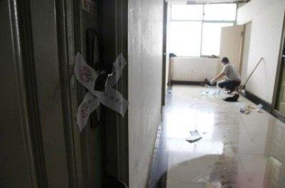 发现死者的学生宿舍被警方查封