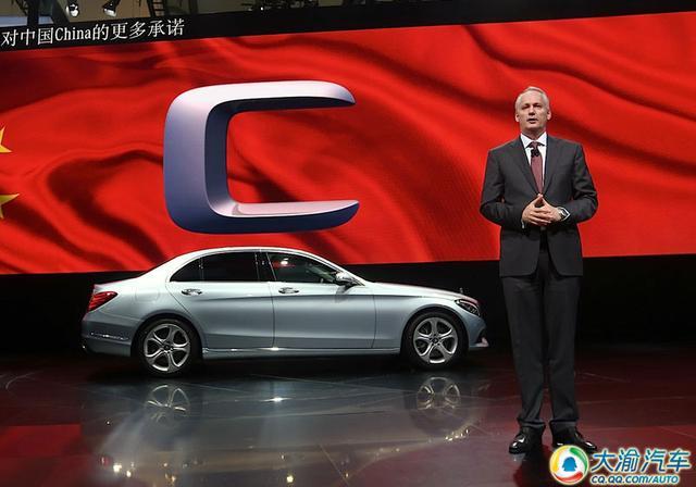 2014北京车展:新一代奔驰C级加长版发布
