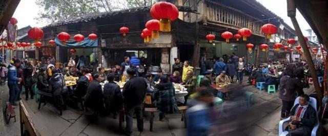 """金刀峡生态度假区""""猪羊鼎""""年味民俗文化活动开始了"""