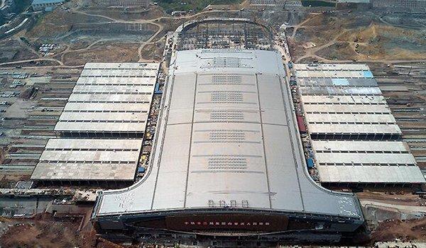 重庆西站建设进入冲刺阶段 预计年底投用