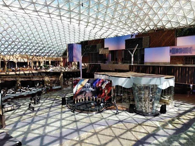 澳门美狮美高梅来渝巡演_创造亚洲首个动感剧院