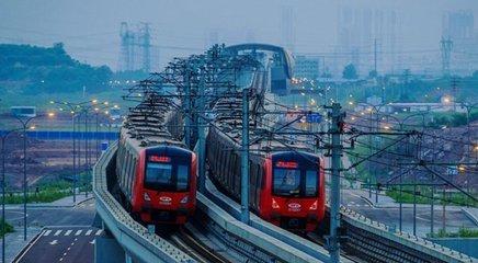 重庆今年将开通2条新建3条轨道交通线