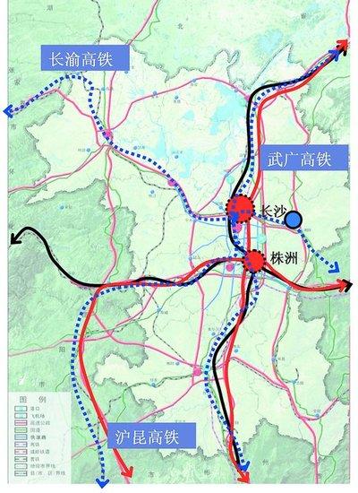 未来多条高铁接轨长沙_房产_腾讯网-未来中国高铁线路图,未来四川图片