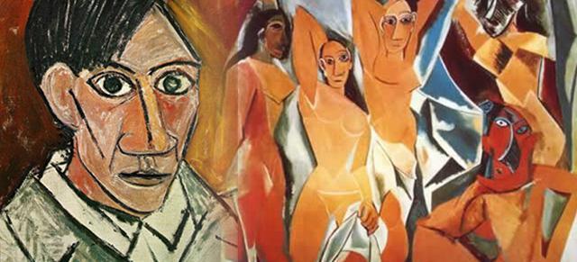 畢加索:世界上最接近宇宙奧秘的便是異性