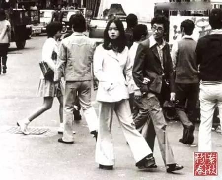 """七八十年代的魔都时尚:""""的确凉""""与""""喇叭裤"""""""