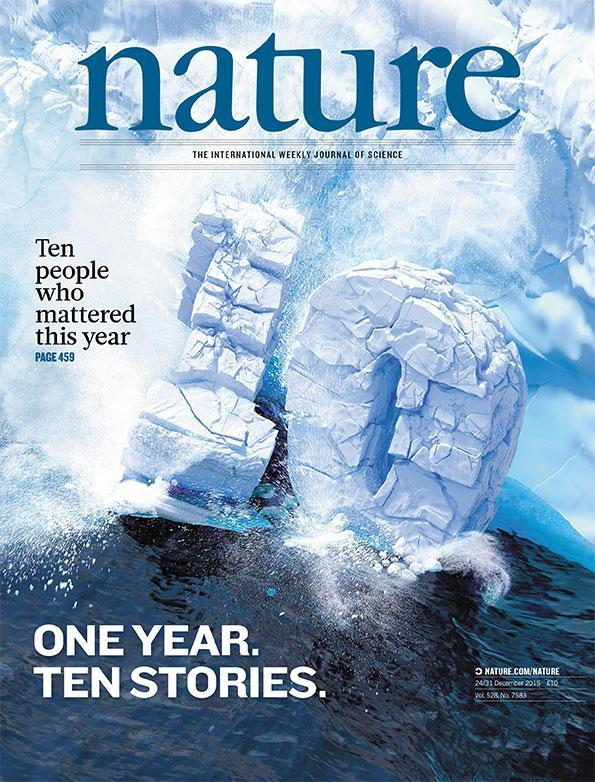 中山大学黄军就上榜《自然》2015年度十大人物