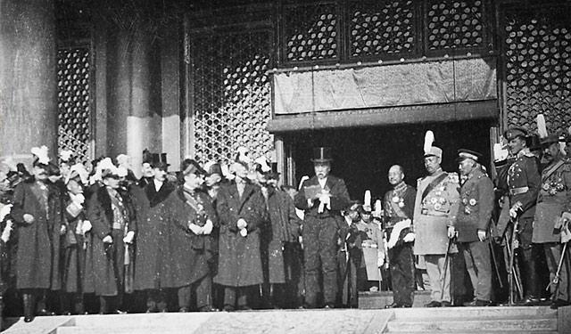 【大家】中国在一战中收回了多少权益
