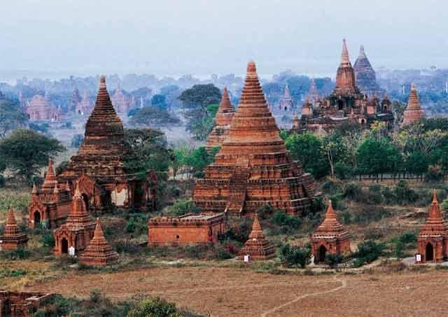 缅甸的寺庙