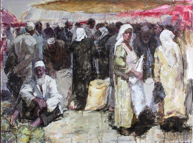 搭乘马航的艺术家:维族画家买买提江·阿布拉其人其事