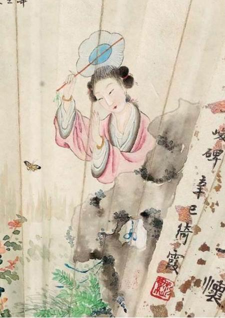 """一柄书画成扇,记录周鍊霞顾青瑶等的""""旧时风月"""""""