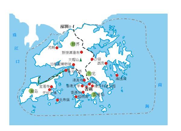 香港的地理位置_沙田的地理位置在香港特区并非中心,但在深港一体的格局下逐渐趋于