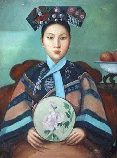 传为凯瑟琳・卡尔所画容寿公主