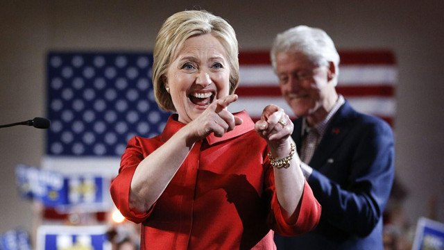 克林顿夫妇