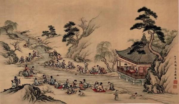 三月三上祀节,古人春游都玩些什么