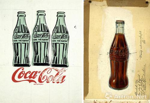 可口可樂弧形瓶啟迪流行文化圖片