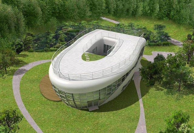 韩国的马桶型住宅