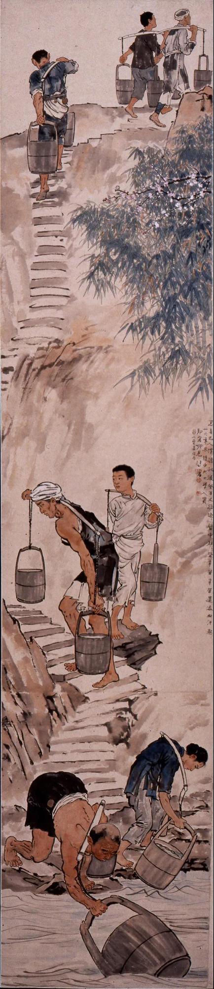 中国美术馆新年展启幕 徐悲鸿大展难得一见