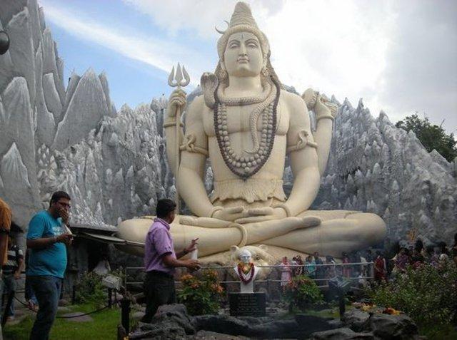 印度班加罗尔的湿婆像