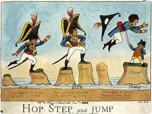 梅然:英国如何踩着法国肩膀登上世界之巅?