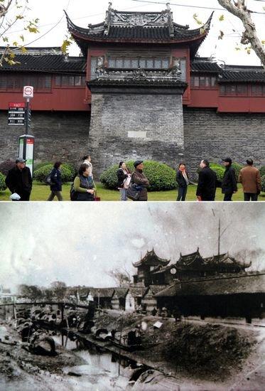 上海城墙的兴废映照城市进程