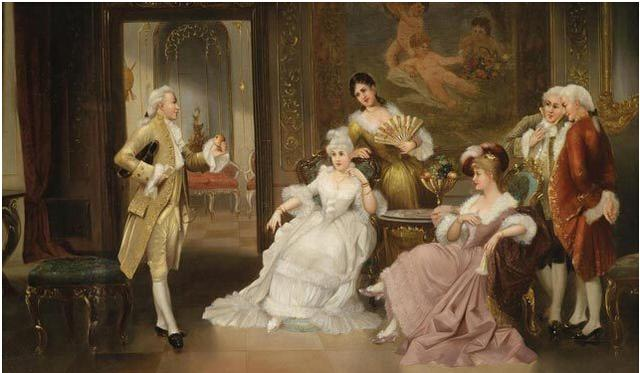 18世纪欧洲平民家庭-教养 阶级和自我规训图片