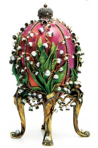 法贝热彩蛋:来自沙皇的复活节礼物