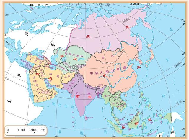 手绘世界地图 文艺