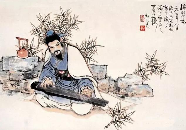 """""""邋遢""""的美型男嵇康,他才是魏晋的第一美男子_文化_腾讯网"""