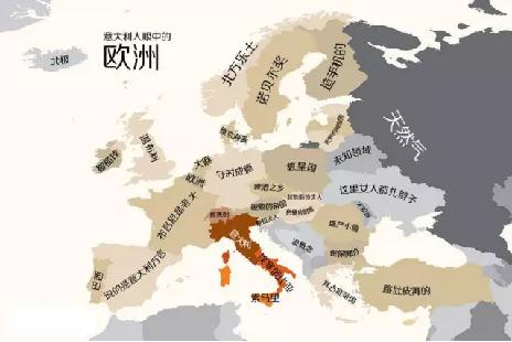 世界偏见地图 一个国家真的存在不同于他国的个性吗