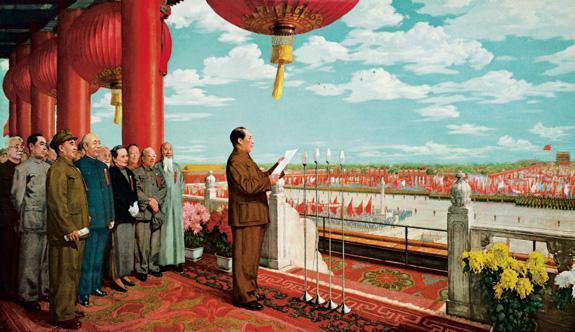 美术的痛苦:因政治风波而几经修改的《开国大典》
