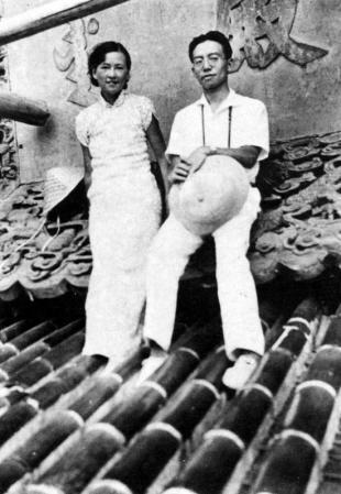 81年前,建筑学家梁思成和夫人林徽因曾经一起来到南京栖霞山的红枫林
